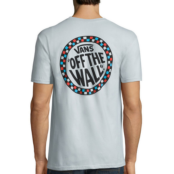Vans® Short-Sleeve Check Wheel Cotton Tee