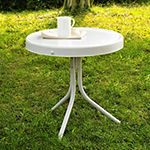 Crosley Retro Metal Patio Side Table