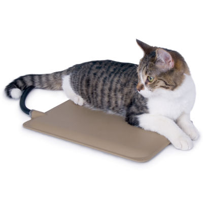 "K & H Manufacturing Extreme Weather Heated Petite Kitty Pad 9"" x 12"" - 25 Watts"
