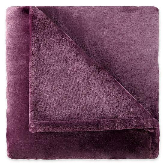Royal Velvet Silk Touch Plush Heavyweight Blanket