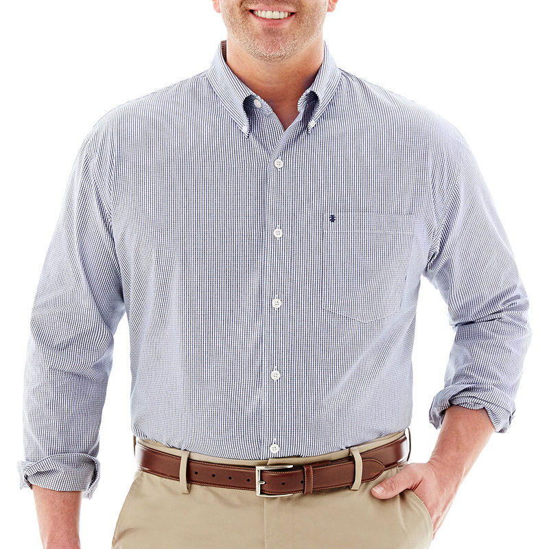 Upc 014056180258 izod essential woven shirt big tall for Izod big and tall essential solid shirt