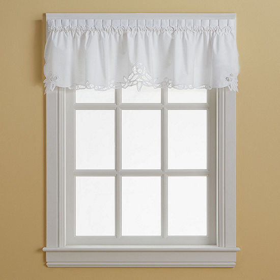 Battenburg Rod Pocket Valance JCPenney