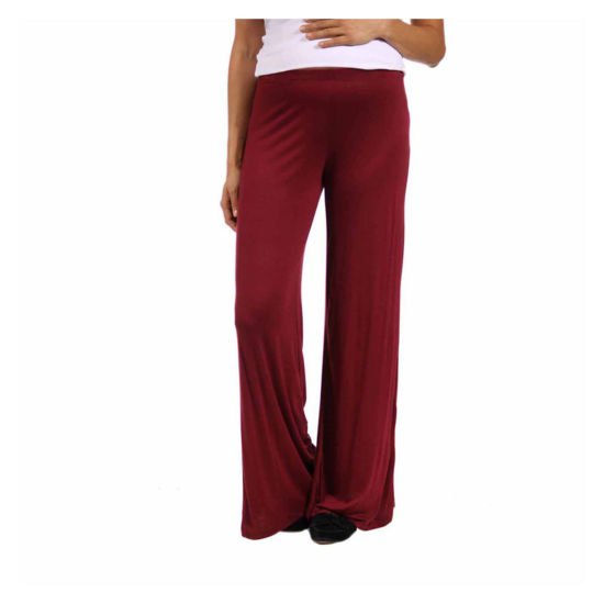24/7 Comfort Apparel Womens Palazzo Pant-Maternity