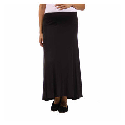 24/7 Comfort Apparel Womens Maxi Skirt - Maternity