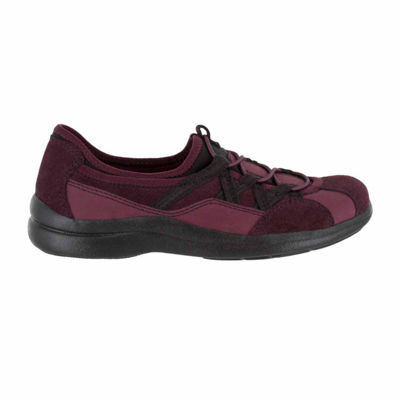 Easy Street Womens Laurel Oxford Shoes Slip-on Round Toe
