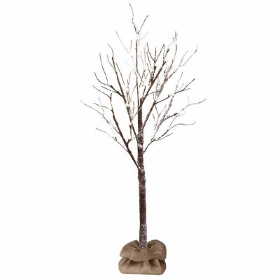 Apothecary 4 Foot Snow Pre-Lit Christmas Tree