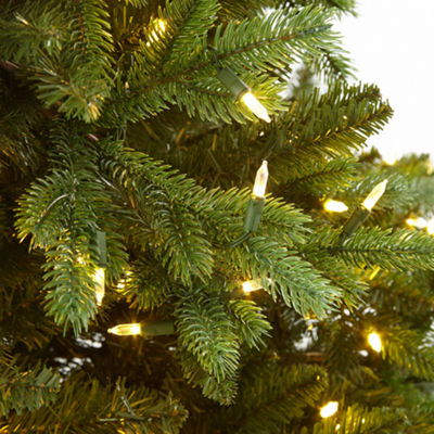 7 1/2 Foot Aspen Grow & Stow Pre-Lit Christmas Tree