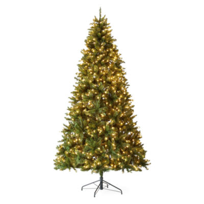 9 foot linden pre lit christmas tree - 9 Foot Christmas Tree