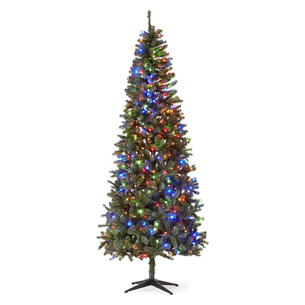 5ft Pre Lit Slim Christmas Tree