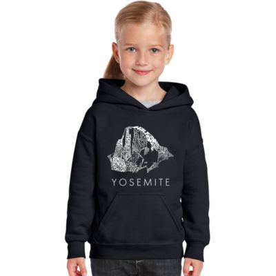 Los Angeles Pop Art Yosemite Graphic T-Shirt Girls