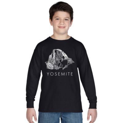 Los Angeles Pop Art Yosemite Graphic T-Shirt Boys