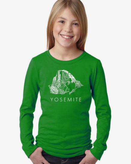 Los Angeles Pop Art Yosemite Graphic T-Shirt Girls
