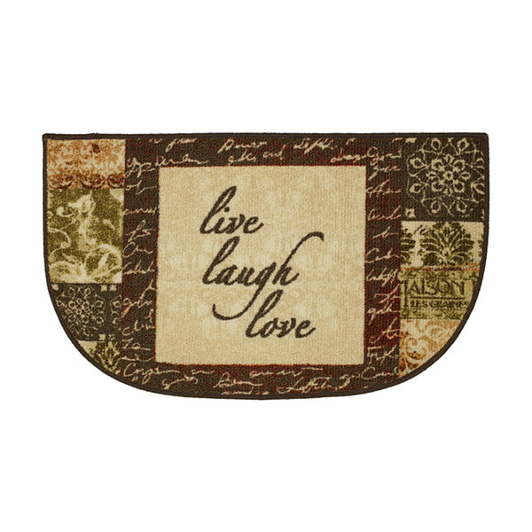 JCPenney Home Live - Laugh Printed Wedge Rugs