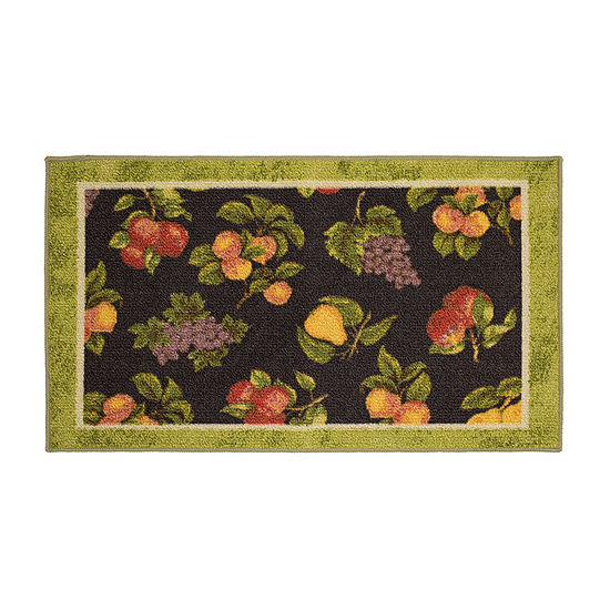 JCPenney Home Picking Fruit Printed Rectangular Indoor Rugs