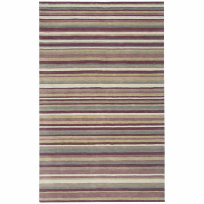 Rizzy Home Platoon Collection Hand Tufted Luke Geometric Rug