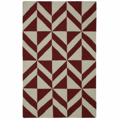 Rizzy Home Swing Collection Hand Made Flatweave Nicholas Geometric Rug