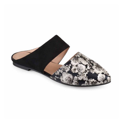 Journee Collection Womens Dayton Mules Pull-on Pointed Toe