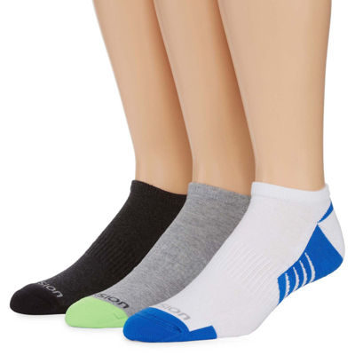 Xersion™ 3-pk. Mens Shield Protect Low Cut Socks - Extended Size