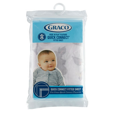 Graco® Quick Connect™ Playard Fitted Sheets, 1 Pack