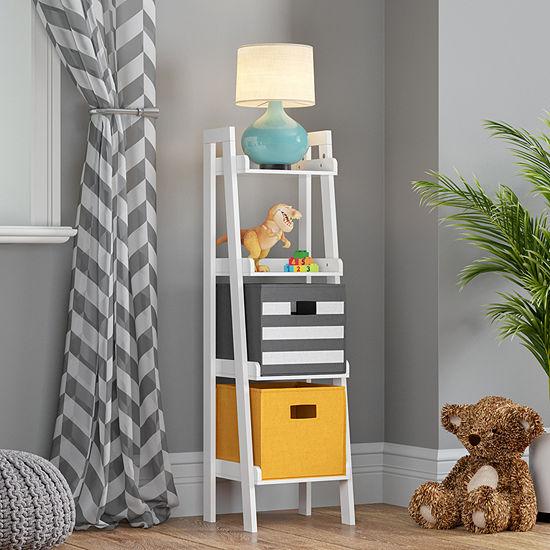 Riverridge Kids 4-Shelf Kids Bookshelf-Painted