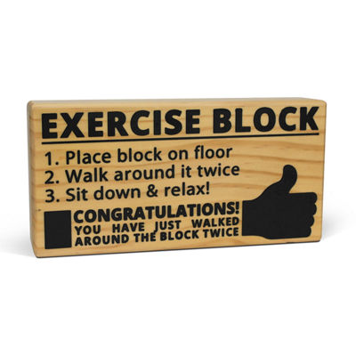 Big Mouth Inc.® Exercise Block