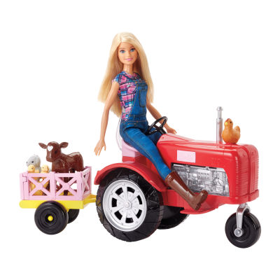Barbie Farmer & Tractor