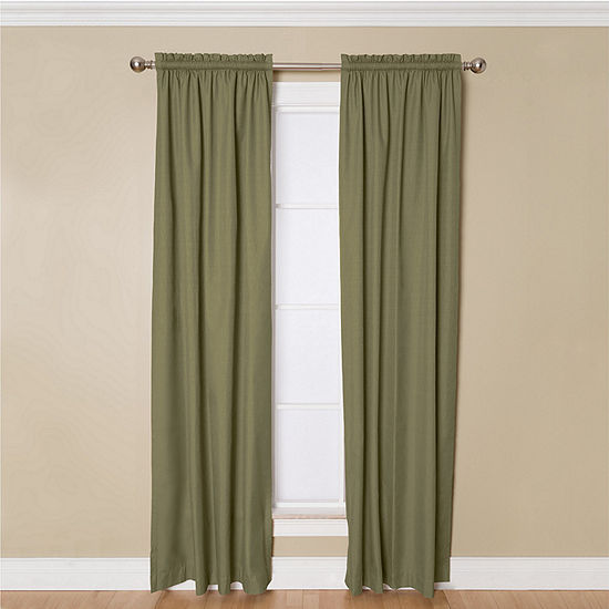 Miller Curtains Winston Room-Darkening Rod-PocketCurtain Panel