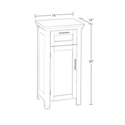 RiverRidge® Somerset Collection Single Door Floor Cabinet