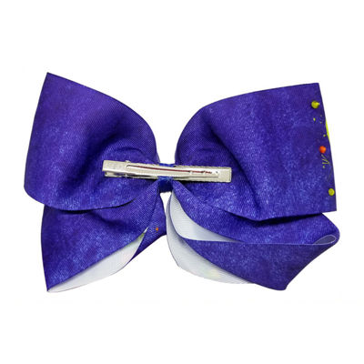 JoJo Siwa Signature Navy Bow JoJo Icons Rainbow Pattern