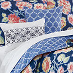 Bloom 6-pc. Floral Reversible Quilt Set