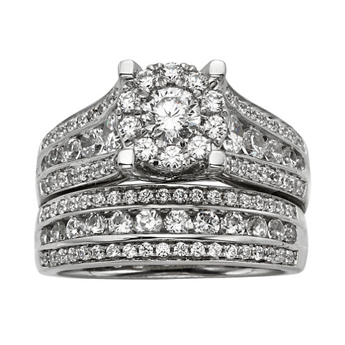 2 CT. T.W. Diamond Bridal Ring Set