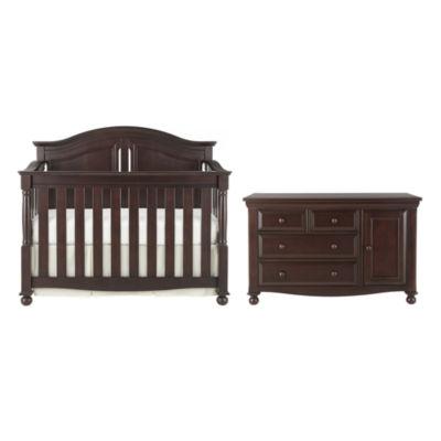 Bedford Baby Monterey 2-pc. Furniture Set - Chocolate