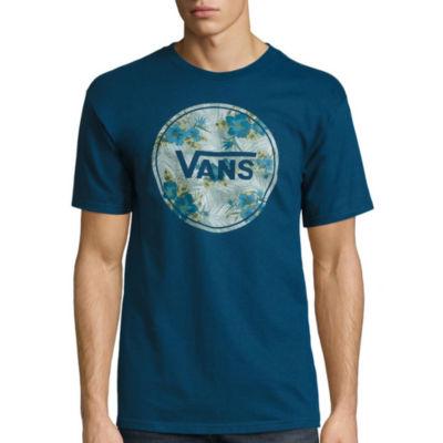 Vans® Short-Sleeve Bloom Circle Cotton Tee