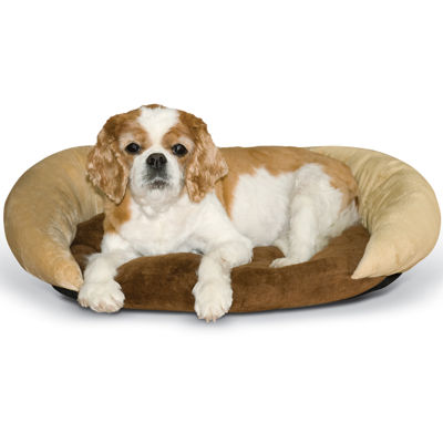 K & H Manufacturing Self-Warming Bolster Pet Bed