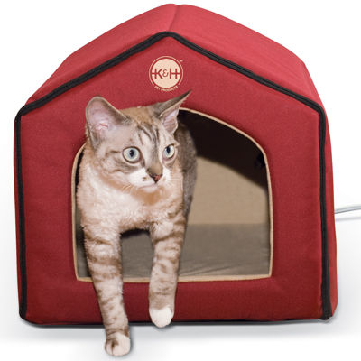 "K & H Manufacturing Thermo-Indoor Pet House 16"" x 15"" x 14"" 4 Watts"