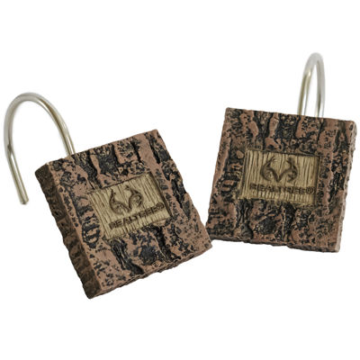 Realtree Shower Curtain Hooks