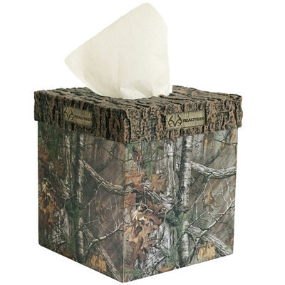 Realtree Tissue Box Cover