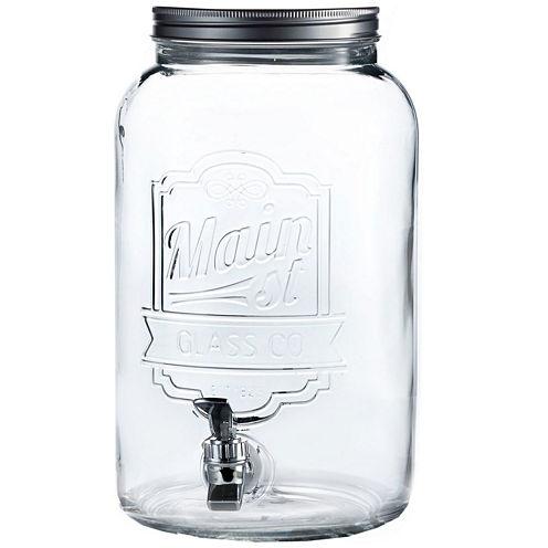 Jay Imports Main Street Embossed Beverage Dispenser