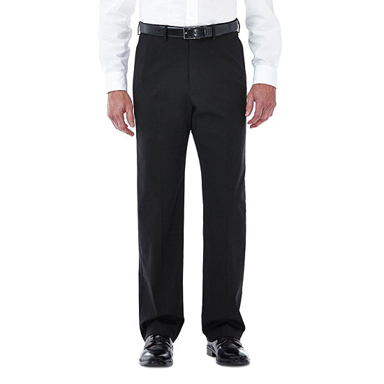 Haggar Premium Stretch Classic Flat Front Dress Pants
