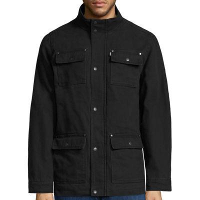 Levi's® Cotton Long-Sleeve 4-Pocket Midweight Barn Coat