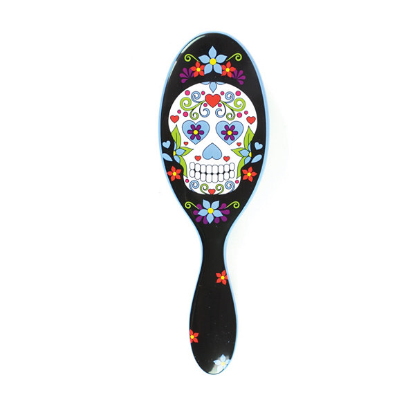 The Wet Brush Detangler - Sugar Skull Blue Brush