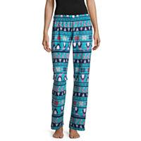 Flirtitude Fleece Pattern Juniors Pajama Pants