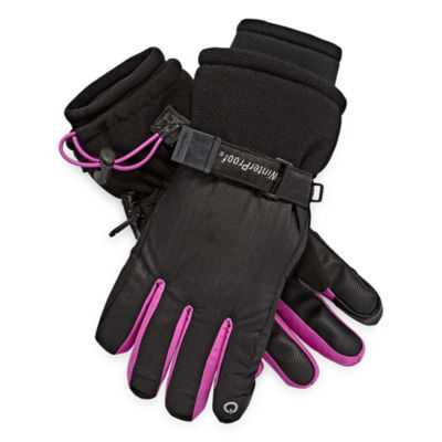 WinterProof Girls Cold Weather Gloves-Big Kid 7-16