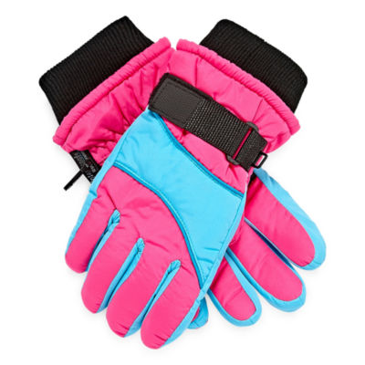 WinterProof Girls Cold Weather Gloves-Big Kid 7-16