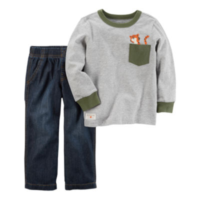 Carter's 2-pc. Animal Pant Set Boys