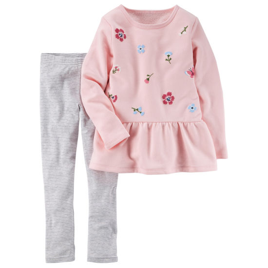 Carter's 2-pack Legging Set-Preschool Girls