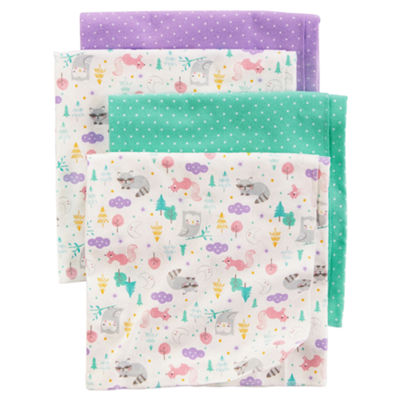 Carter's 4-pk. Blanket - Girls