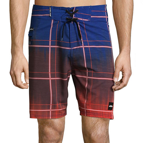 Pipeline Plaid Board Shorts