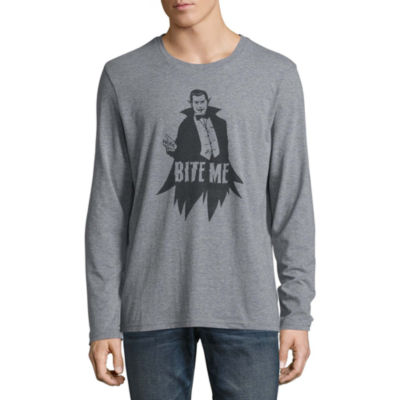 City Streets Long Sleeve Crew Neck T-Shirt