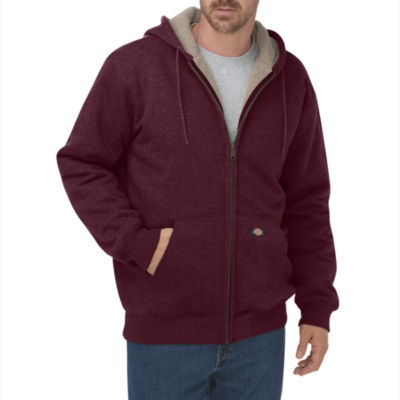 Dickies® Men's Sherpa-Lined Fleece Hoodie
